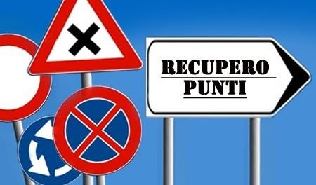 CORSO RECUPERO PUNTI SETTEMBRE 2018